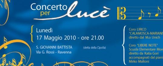 Concerto Fondazione Lucè 2010